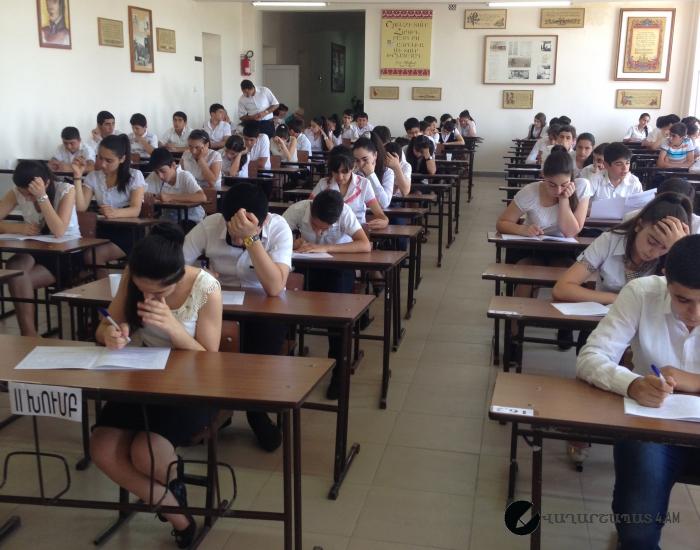 Դպրոցում սկսվել են իններորդ դասարանցիների քննությունները