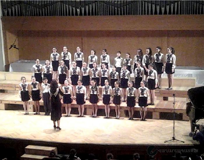Երգչախմբային արվեստի միջազգային օրվան նվիրված միջոցառում