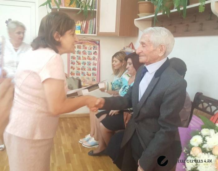 101 ամյա Գուրգեն Ճուղուրյանը