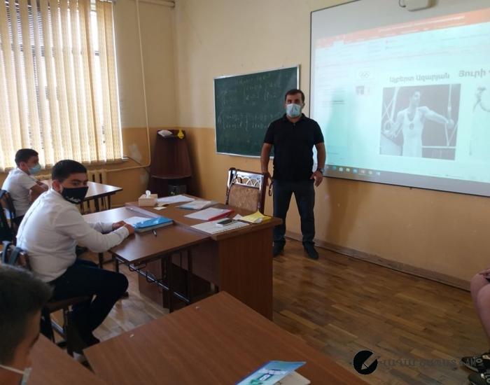 Ֆիզկուլտուրայի դաս-Օլիմպիական խաղերը և հայ չեմպիոնները